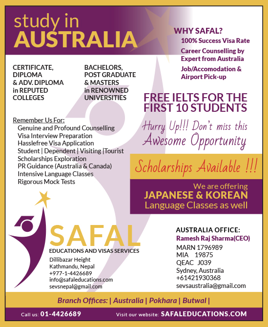 Free IELTS at SAFAL!!!