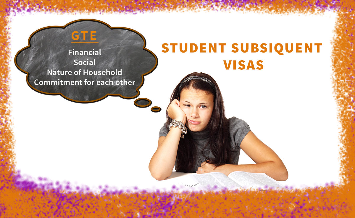 Student Subsequent Visas